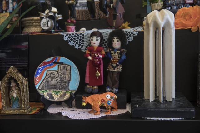 Ofrenda highlighting Little Armenia