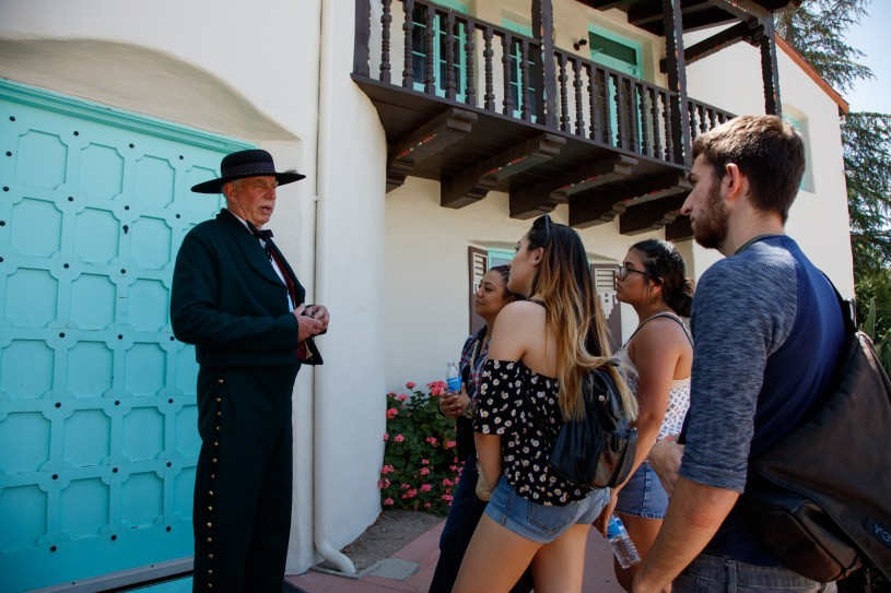 Photo of museum tours during the hart cowboy festival