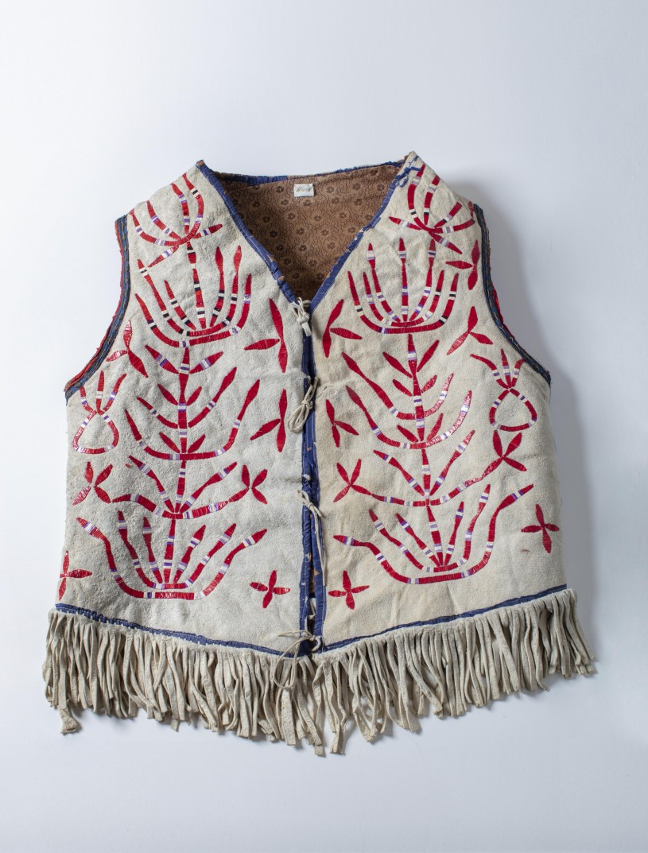 quiltwork vest william s hart museum