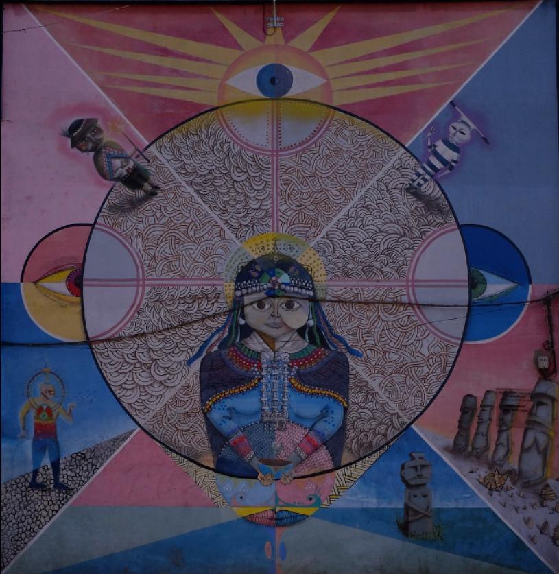 Mural of Machi