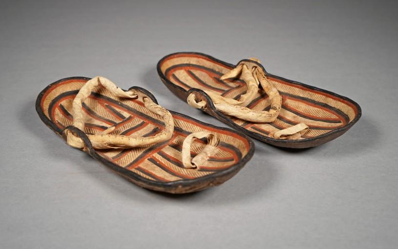 Buffalo Hide Sandals