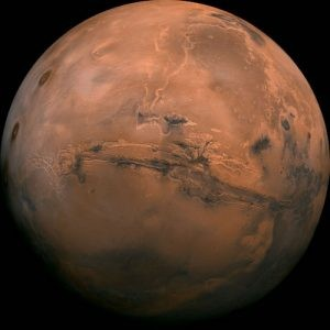 In addition to moons like Jupiter's Europa and Saturn's Enceladus, Mars is one of the most promising places in our solar system to find life. Image credit: NASA/JPL-Caltech.